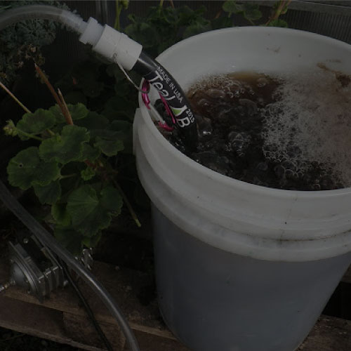 Actively Aerated Compost Tea